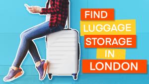 luggage storage london